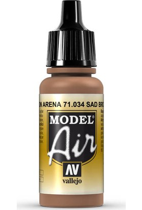 Vallejo 71034 Model Air Sand Brown Maket Boyası