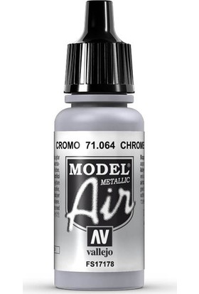 Vallejo 71064 Model Air Chrome Maket Boyası