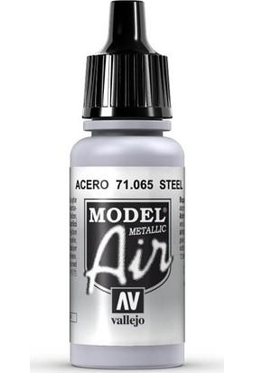 Vallejo 71065 Model Air Steel Maket Boyası