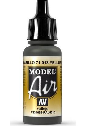 Vallejo 71013 Model Air Yellow Olive Maket Boyası