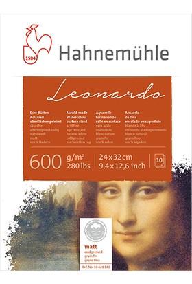 Hahnemühle Suluboya Kağıdı Blok Leonardo 600Gsm 24X32Cm 10Sayfa