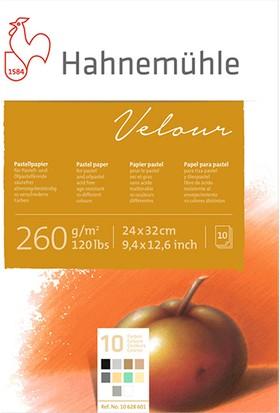 Hahnemühle Pastel Blok Velour Beyaz 260Gsm 36X48Cm