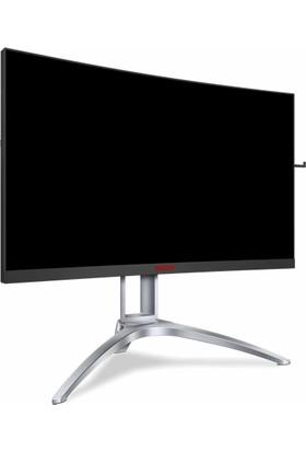"AOC Agon AG273QCX 27"" 144Hz 1ms (HDMI+Display+Analog) FreeSync2 QHD Curved HDR400 Monitör"