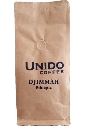 Unido Ethiopia Djimmah Çekirdek Filtre Kahve 200 gr