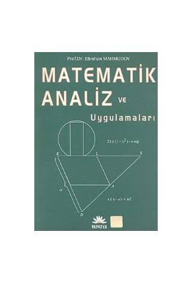 Matematik Analizi ve Uygulamaları - Elimhan Mahmudov