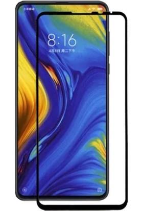 Dafoni Xiaomi Mi Mix 3 Curve Tempered Glass Premium Full Siyah Cam Ekran Koruyucu