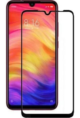 Eiroo Redmi Note 7 Curve Tempered Glass Full Siyah Cam Ekran Koruyucu