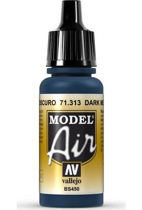 Vallejo 71313 Model Air Dark Mediterranean Blue Maket Boyası