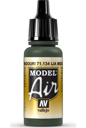 Vallejo 71134 Model Air IJA Midouri Green Maket Boyası