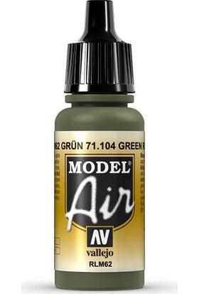 Vallejo 71104 Model Air Green Maket Boyası