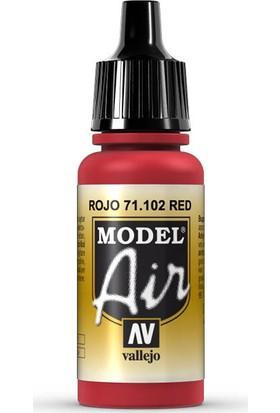 Vallejo 71102 Model Air Red Maket Boyası