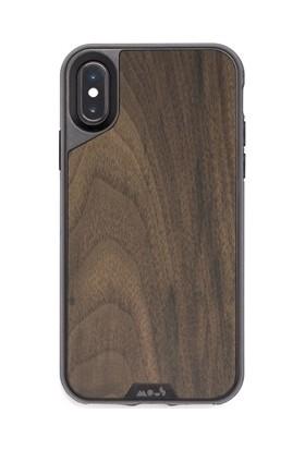 Mous Limitless Apple iPhone XS Max Walnut-İx No Screen Walnut Kılıf