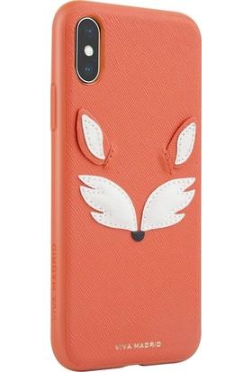Viva Madrid Back Mascota Always Foxy iPhone X Kılıf