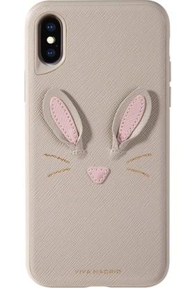 Viva Madrid Back Mascota Hunny Bunny iPhone X Kılıf