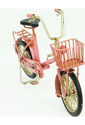 Mory Concept Dekoratif Metal Bisiklet Sepetli