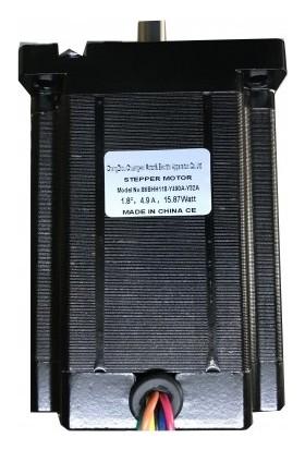 Şahin Rulman Step Motor Nema 34   8.5 Nm - 86Bhh118-Y490A-Y32A
