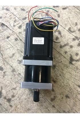 Şahin Rulman Planet Redüktörlü Step Motor 8.5 Nm - 86Bhh118-490G-35J-Pl5K
