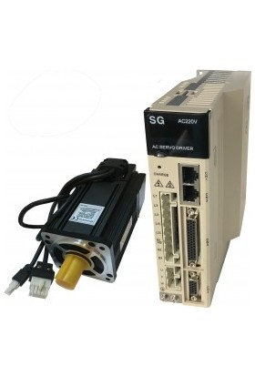 Şahin Rulman Servo Motor Sürücü Set 750 Watt | 0.75 Kw Güç | 80Sy-M02430 Sg-As15Bf