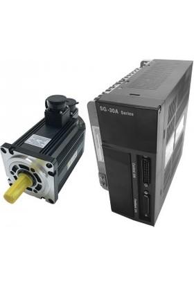 Şahin Rulman Servo Motor Sürücü Set 1500 Watt |1.5 Kw Güç | 110Sy-M05030 Sg-30A