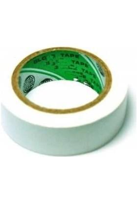 Globe Pvc Elektriksel İzolasyon Bandı 10.Lu Paket - Beyaz