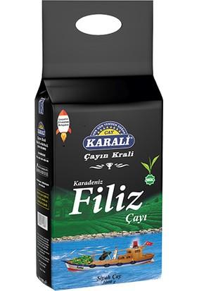 Karali Karadeniz Filiz Siyah Çay 3 Kg