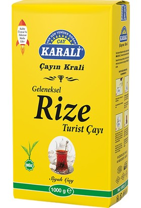 Karali Geleneksel Rize Turist Dökme Çay 1 kg