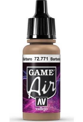 Vallejo 72771 Game Air Barbarian Flesh Maket Boyası
