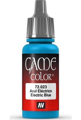 Vallejo 72023 Game Color Electric Blue Maket Boyası