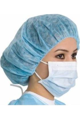 Ds Non-Steril Maske 50'Lik Cerrahi Maske Yüz Ağız Maskesi