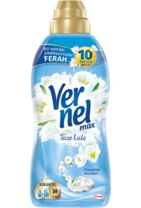 Vernel Max Taze Lale 720 ml 30 Yıkama Yumuşatıcı