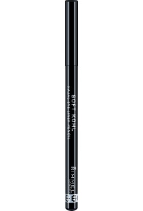 Rimmel London Soft Kohl Kajal Eyeliner Kalemi 061 Jet Black