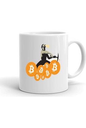Ertesi Gün KapındaBitcoin Trader Kupa Bardak