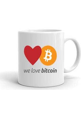 Ertesi Gün KapındaBitcoin We Love BTC Kupa Bardak