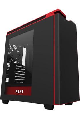 NZXT H440 Siyah Kırmızı Pencereli USB3.1 ATX Kasa