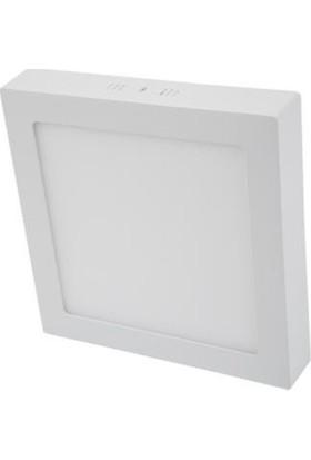 Cata 25W Damla Kare Sıva Üstü Led Panel Armatür Ct-5272 - Gün Işığı Plastik Kasa