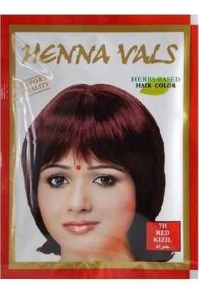Henna Vals Hint Kınası Saç Boyası Kızıl 10 gr