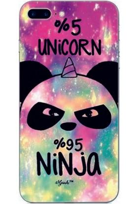 GoGo Apple iPhone 6/6S Kapak Kılıf Unicorn Panda Baskılı Silikon Kılıf