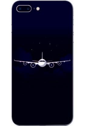 GoGo Apple iPhone 6/6S Kapak Kılıf Uçak Baskılı Silikon Kılıf