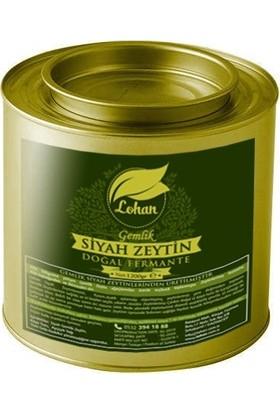 Lohan Gemlik Siyah Çevirme Zeytin, Doğal Fermante, Net 1.2 kg