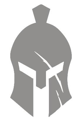 New Jargon Sparta Askeri Kaskı Sticker Yapıştırma Gri