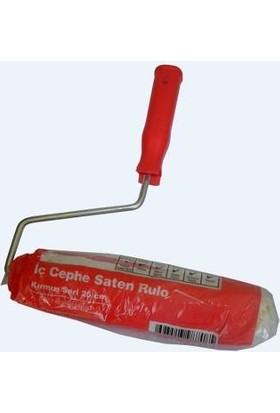 Dyo İç Cephe Saten Rulo Kırmızı Standart Seri 20 Cm