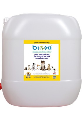 Bioxi Pet Dezenfektanı Konsantre 20 lt