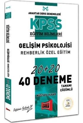 Yargı Yayınevi KPSS Eğitim Bilimleri Gelişim Psikolojisi, Rehberlik Özel Eğitim Tamamı Çözümlü 40 Deneme - Mustafa Alkan