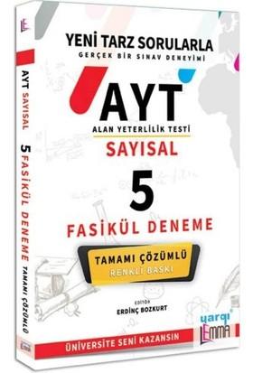Yargı Lemma Yayınları AYT Sayısal Tamamı Çözümlü 5 Fasikül Deneme