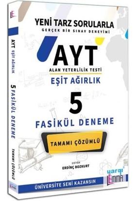 Yargı Lemma Yayınları AYT Eşit Ağırlık Tamamı Çözümlü 5 Fasikül Deneme
