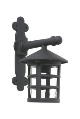 Sensa Marka Pergole Model Alüminyum Enjeksiyon Döküm Aplik , Siyah Renk