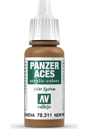 Vallejo 70311 Panzer Aces New Wood 17 Ml