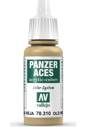 Vallejo 70310 Panzer Aces Old Wood 17 Ml