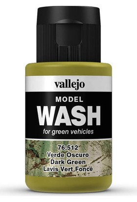 Vallejo 76512 Model Wash Dark Green 35 Ml