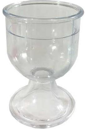 Roll-Up Plastik Şerbet Bardağı 12'Li